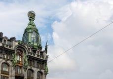 Arkitektur i St Petersburg, Ryssland Royaltyfri Fotografi