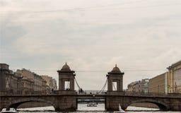 Arkitektur i St Petersburg, Ryssland Arkivbilder