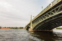 Arkitektur i St Petersburg, Ryssland Fotografering för Bildbyråer