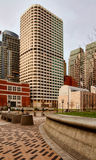 arkitektur i stadens centrum boston Royaltyfria Foton