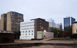 arkitektur i stadens centrum jackson mississippi arkivfoton