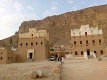 Arkitektur i Yemen royaltyfria foton