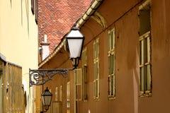 Arkitektur i Zagreb, Kroatien fotografering för bildbyråer