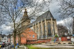 Arkitektur Koln, Tyskland arkivbild