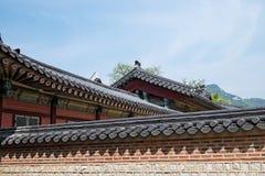 Arkitektur Korea Royaltyfria Foton