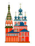 arkitektur kyrkliga russia Royaltyfri Fotografi