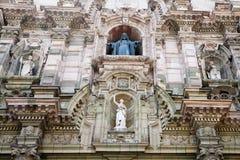arkitektur lima gammala peru Royaltyfri Bild