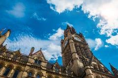 Arkitektur Manchester för kyrka för St Anna ` s yttre royaltyfria foton