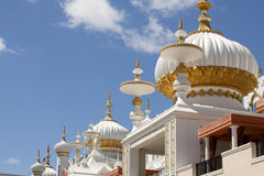 Arkitektur: Mitt - östliga beståndsdelar av Mughal stil arkivbild