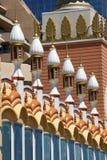 Arkitektur: Mitt - östliga beståndsdelar av Mughal stil Royaltyfri Bild