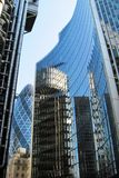 arkitektur moderna london Royaltyfria Bilder