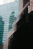 arkitektur moderna manhattan Royaltyfri Foto