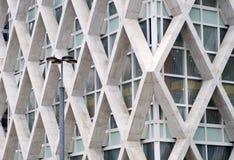 arkitektur moderna paris Arkivbilder