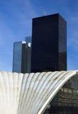 arkitektur moderna paris Arkivfoton