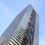 arkitektur moderna tokyo Arkivfoton