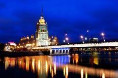 arkitektur moscow royaltyfri foto