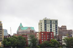 Arkitektur New York Brooklyn Royaltyfri Foto