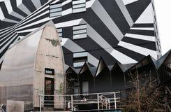 Arkitektur och abstrakt begrepp Arkivbilder