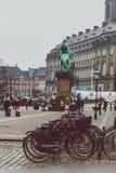 Arkitektur och byggnader i den berömda shoppinggatan av Stro Royaltyfria Foton