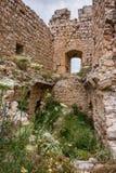 Arkitektur och naturen i Kritinia rockerar på den Rhodes ön, Grekland Royaltyfri Foto
