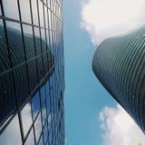 Arkitektur och sky Fotografering för Bildbyråer