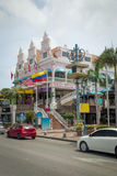 Arkitektur på Aruba Arkivbilder