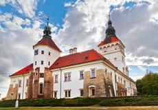 Arkitektur på Smecno - tjeckisk republik Royaltyfri Fotografi