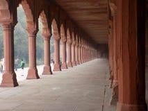 Arkitektur på Taj MAhal arkivbild