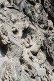 1193 1197 arkitektur som snider för russia för domkyrkademetriusmonument white för vladimir för sten st unik Arkivfoto