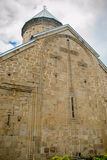 1193 1197 arkitektur som snider för russia för domkyrkademetriusmonument white för vladimir för sten st unik kyrklig novgorod för Arkivfoton