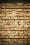 arkitektur Tegelstenvägg som textur eller bakgrund Royaltyfri Bild