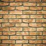 arkitektur Tegelstenvägg som textur eller bakgrund Royaltyfria Bilder