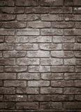 arkitektur Tegelstenvägg som textur eller bakgrund Arkivfoto