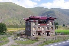 arkitektur tibet Arkivbilder