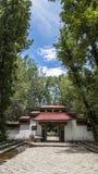 arkitektur tibet Arkivfoto