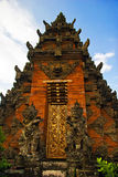 arkitektur traditionella bali Arkivbild