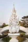 Arkitektur Wat Rong Khun, Chaingrai, Thailand Royaltyfri Fotografi