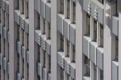 arkitekturart déco Arkivfoto
