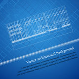 Arkitekturbakgrundsritning Royaltyfri Bild