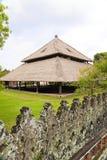 arkitekturbalinesedesign indonesia Royaltyfri Bild