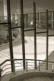arkitekturborggård Arkivbild