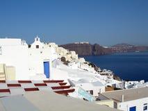 arkitekturcyclades greece öar Fotografering för Bildbyråer
