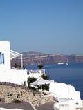 arkitekturcyclades greece öar Royaltyfri Fotografi