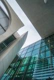 Arkitekturdel av parlamentet i Berlin, Tyskland Royaltyfria Bilder