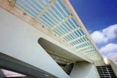 Arkitekturdetalj av bron Arkivbild