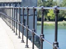 Arkitekturdetalj av det Pont helgonet-Bénézet, Avignon, Frankrike Arkivbilder