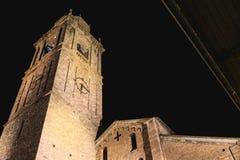 Arkitekturdetalj av det romanska basilikahelgonet Jacob i B Royaltyfri Fotografi