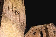Arkitekturdetalj av det romanska basilikahelgonet Jacob i B Fotografering för Bildbyråer