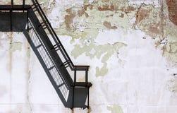Arkitekturdetalj för stads- förfall arkivbild