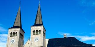 Arkitekturdetalj i Berchtesgaden, Tyskland Royaltyfria Foton